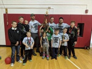 Pioneer Youth Wrestling club takes third at NWAA Tournament